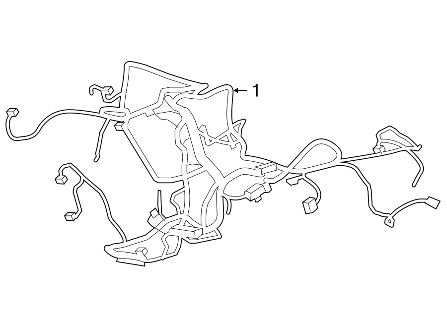 Chevrolet Suburban 2500 Harness. Engine wiring. Connfor, wrgwwire - 20757816   Wholesale GM ...