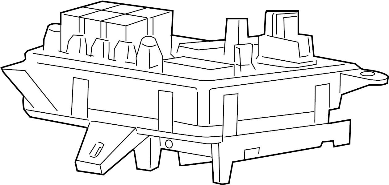 Gmc Acadia Block  Main Wiring Junction And Fuse Block