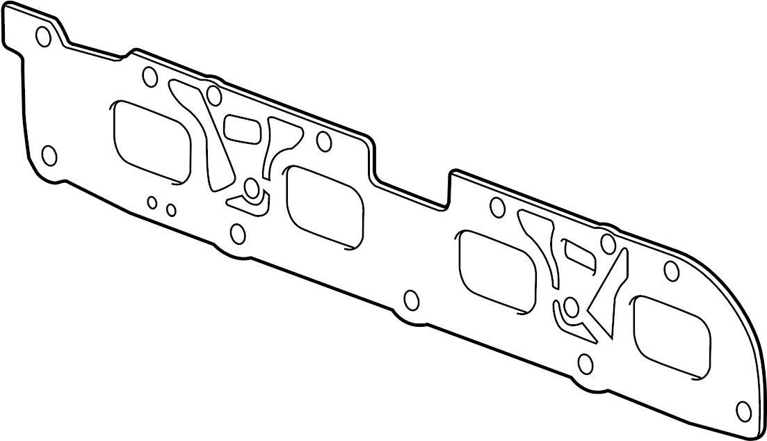 Chevrolet Cobalt Gasket  Manifold To Cylinder Head  Gasket  Exh Manif With Secondary Air
