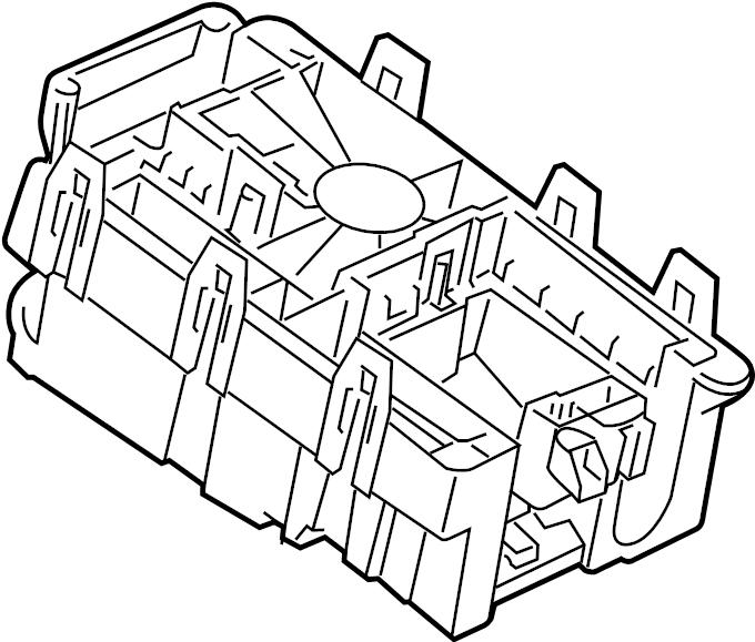 chevrolet cruze relays  u0026 modules  engine compartment