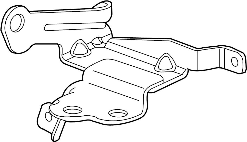 15296901 Gmc Bracket Electronic Brake Control Bracket