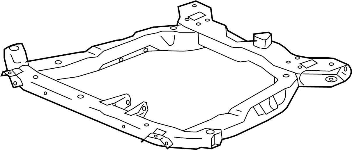 Saturn Ion Frame  Chassis  Frame  Drivetrain  U0026 Frt Susp