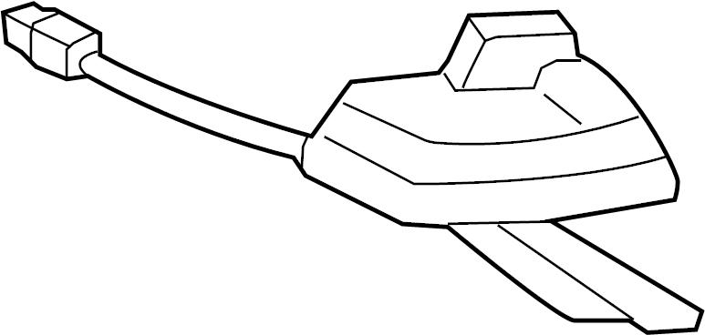 10374577 Saturn Antenna Radio Antenna Vehicle