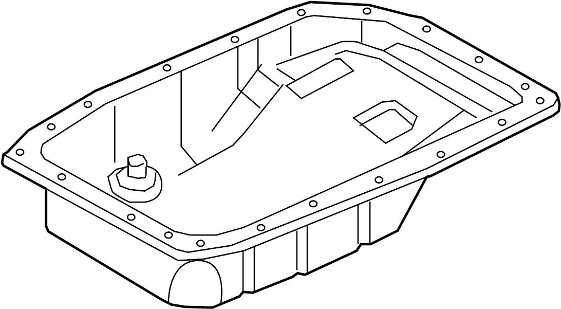 2008 chevrolet corvette base convertible pan  transmission