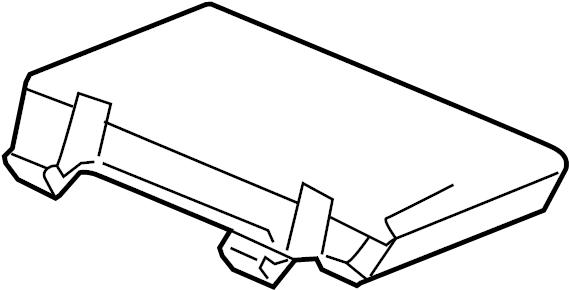 chevrolet colorado compartment  seat separator console