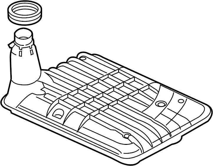 29542833 Gm Filter Oil Pan Pump Suction Filter A Trns