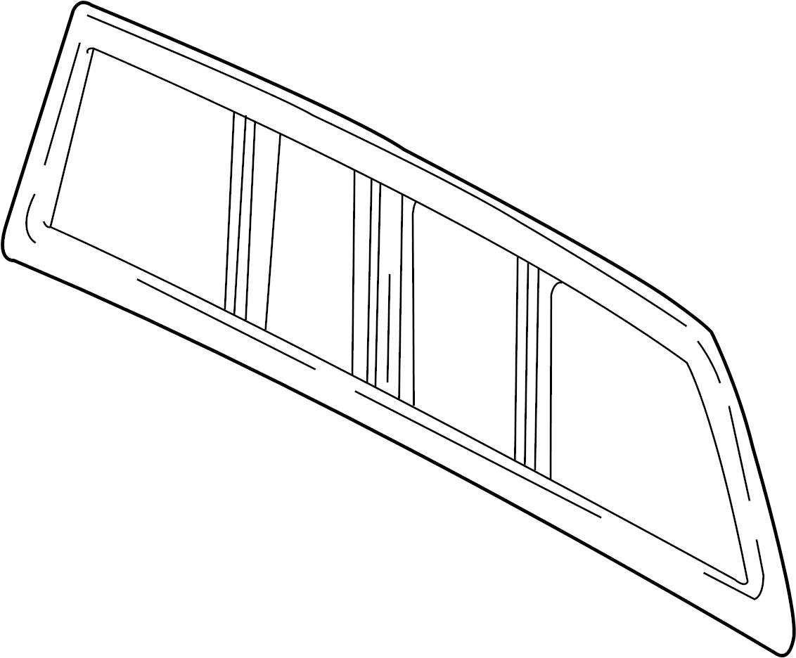 12498123 chevrolet window back rear door window window for Sliding glass back door