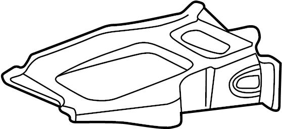 15246518 - gm tray  battery  tray  bat