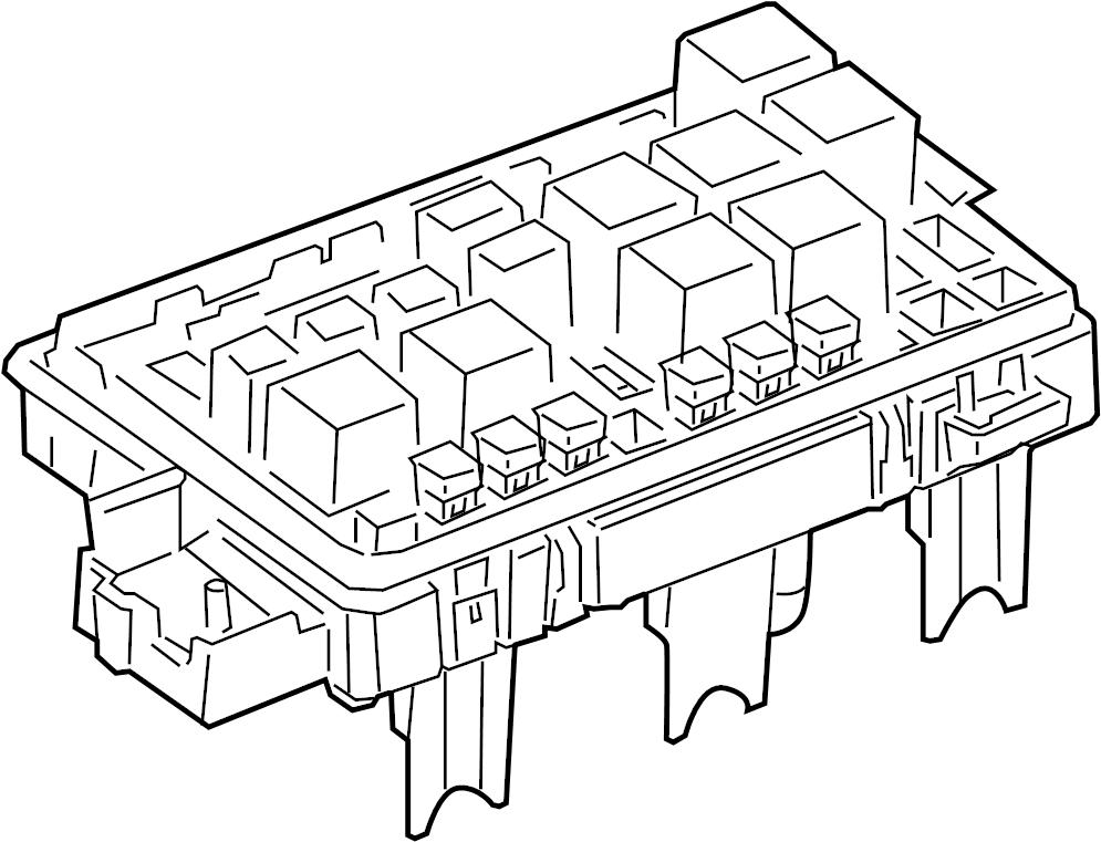 W123 Fuse Box