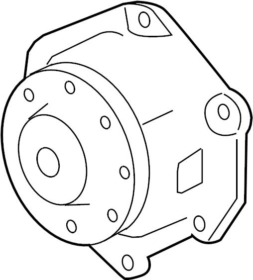 Gmc Acadia Pump Kit  Engine Coolant  Connectorpumppump