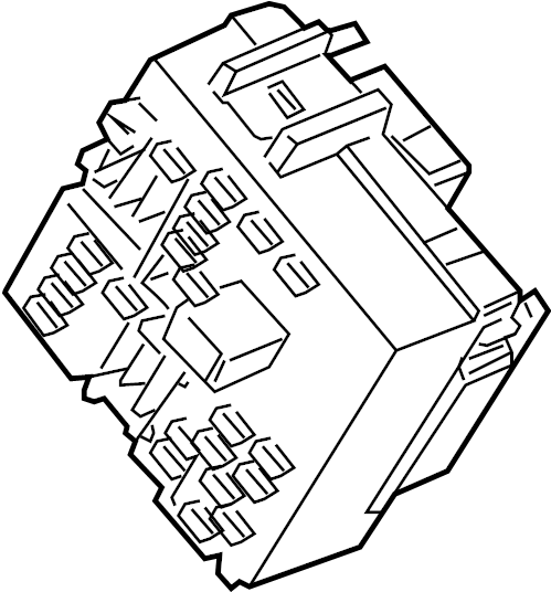 2007 gmc silverado block  wiring junction  block  fuse