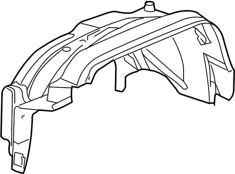 hummer h3 liner  front fender inner wheel house  whuse
