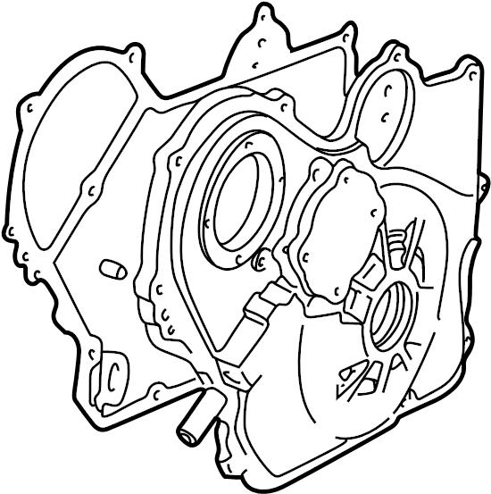 2006 Pontiac G6 Gasket  Engine Front Cover  Gasket  Eng