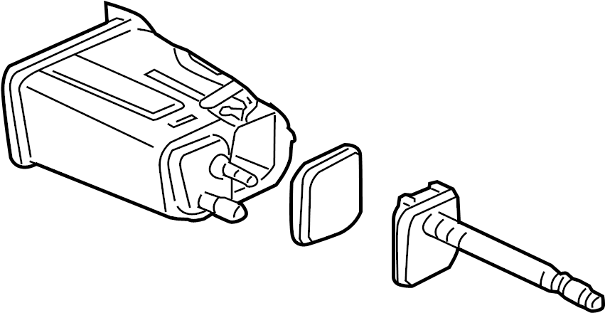 19177698 Saturn Filter Kit Fuel Tank Evaporator Purge
