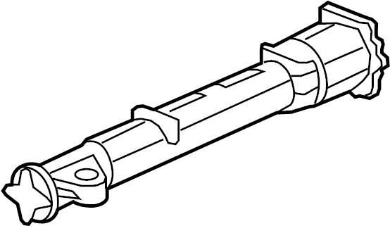 2012 chevrolet traverse tube  propeller  tube  driveline